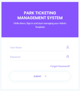 Park Ticketing Management System
