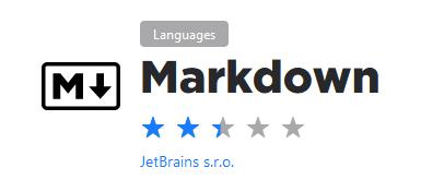 PyCharm Markdown plugin