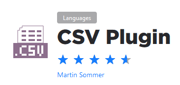 PyCharm CSV plugin