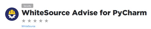 PyCharm WhiteSource Advise plugin