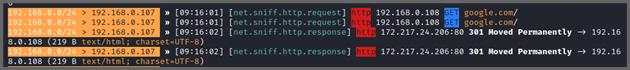 A screenshot of the output.