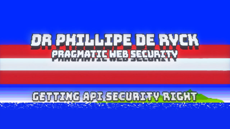 Getting API Security Right